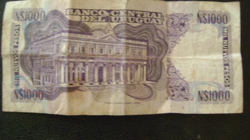uruguay moneda billete