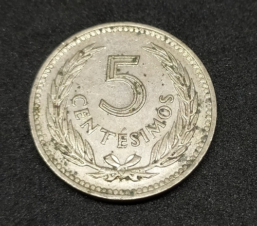 uruguay - moneda de 5 centésimos - año 1953