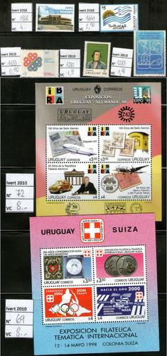 uruguay - recientes val. cat 127,3.