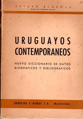 uruguayos contemporaneos - arturo scarone