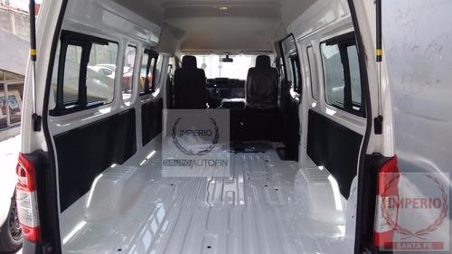 urvan nv350 panel o pasajeros12/15 2017 imperio santa fe