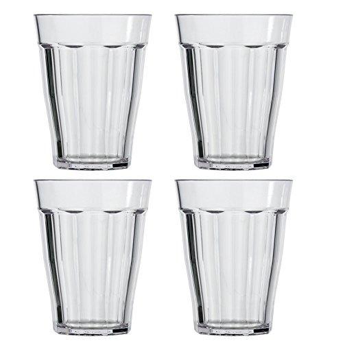 Us Acrylic Rhapsody Vasos De Plastico De 12 Onzas Juego D