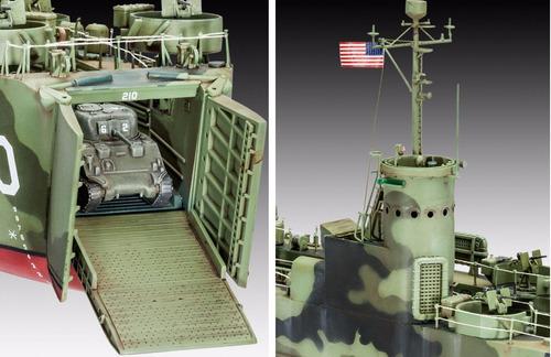 u.s. navy landing ship medium (early) - 1:144 - 05123 revell