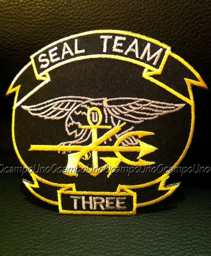 Us Navy Seal Team3 Chris Kyle Patch + Seal 8 Sticker  Nuevos