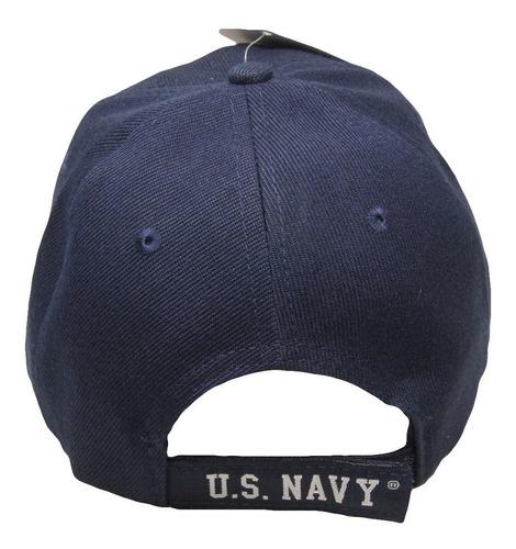 U.S Navy USN Eagle Anchor Patriotic USA American Flag Blue Embroidered Cap Hat