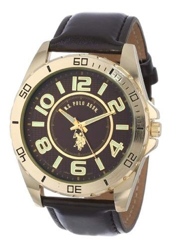 u.s. polo assn. reloj de hombre con correa