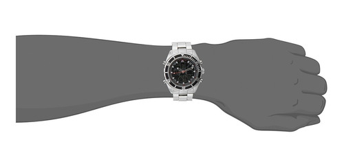 u.s. polo assn. reloj de pulsera de plata con pantalla analó