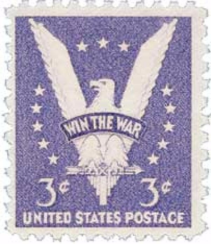 us sc #905 - 1942 3c win the war con matasello.