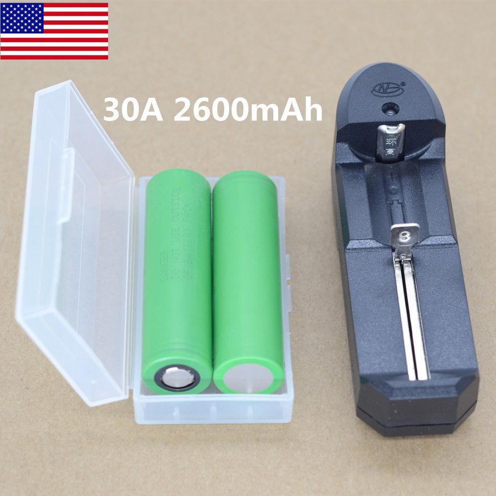 Us18650vtc5 2600mah Dren Alto 3 6v Vape Mod Batería Del Li-i