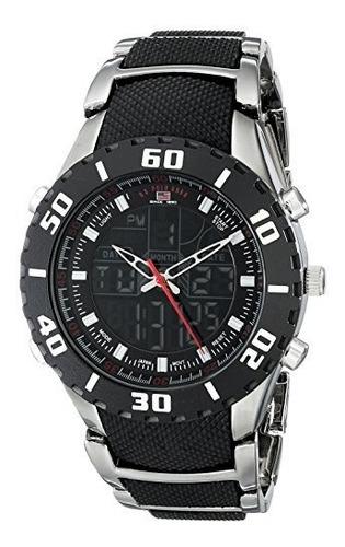 us8163 reloj de pulsera u.s. polo assn. hombres sport con