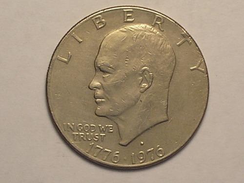 usa) 1 dollar - 1776/1976 = eisen. / ficando escassa / s/fc