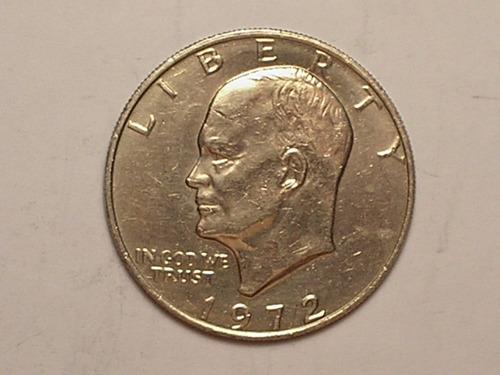 usa) 1 dollar - 1972  eisenhower  (s/fc) / (1)