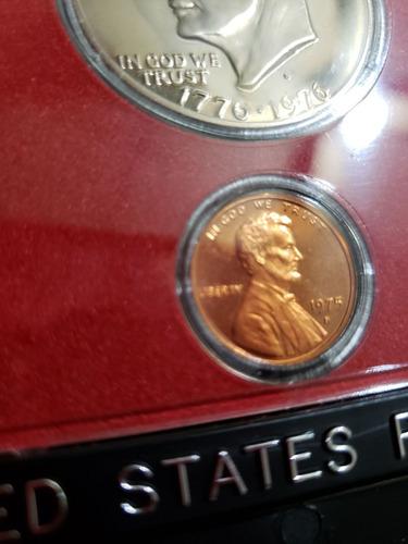 usa 1975 proof set 6 monedas