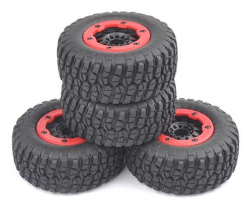 usa bolas de bloqueo neumático llanta de 4 × 1/10 escala rc