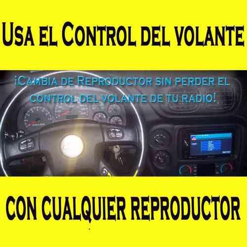 usa el control de sonido de volante en cualquier reproductor