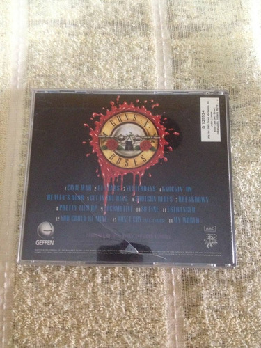 usa guns n' roses cd importado u.s.a