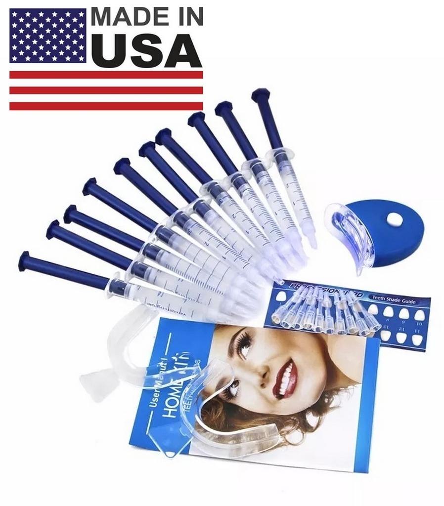 Usa Kit Clareamento Dental 44 Whiteness 10 Seringas Mold R 59