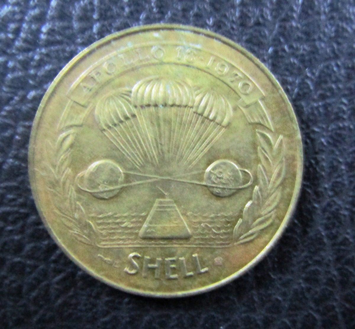 Usa Medalla Espacial Apollo 13 1970 Nasa - Shell - $ 500,00