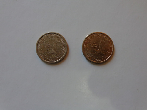 u.s.a. sacagawea dollars 2000 p & d