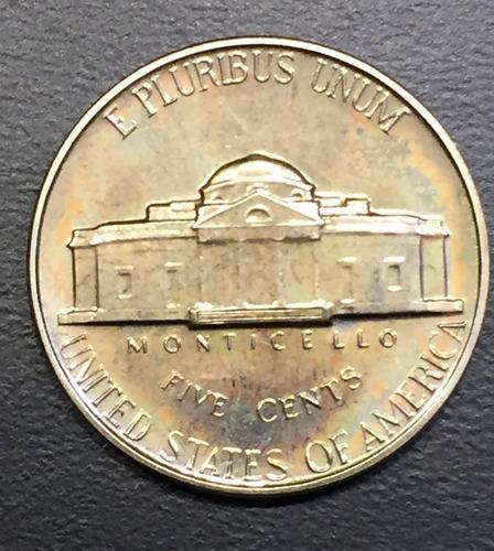 usa014 moneda usa 5 cents 1962 proof ayff