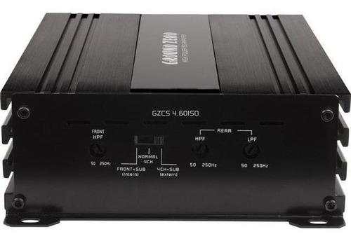 (usado) amplificador ground zero gzcs 4.60iso