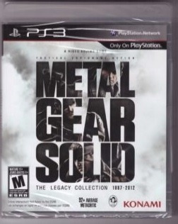 usado en buen estado ps3 metal gear solid legacy collection