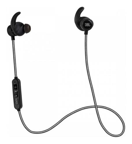 usado - fone de ouvido jbl reflect mini bluetooth preto