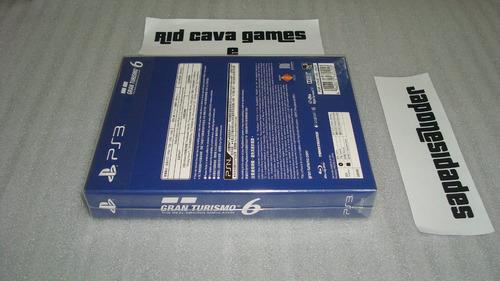 usado gran turismo 6 15th aniversary box limited edition ps3