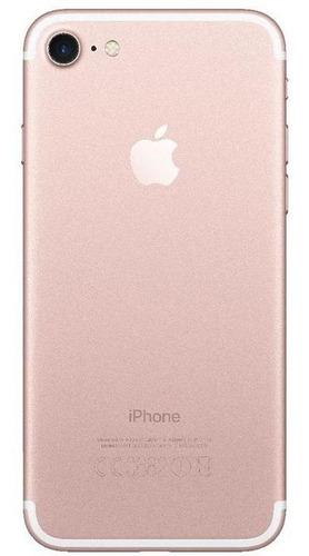 usado: iphone 7 32gb ouro rosa muito bom c/nf e garantia