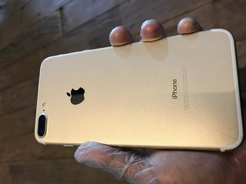 usado - iphone 7 plus 128gb gold