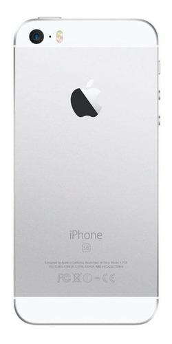 usado: iphone se 16gb prateado mt bom c/nf e garantia