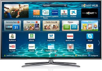 usado tv samsung smart tv 3d de 55 pulgadas 600 verdes