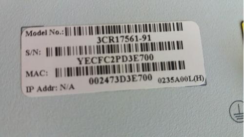 usado3cr17571-91 switch 4500 26 portas 3com super stack