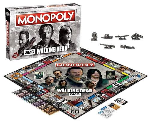 usaopoly amc el juego del tablero del monopol + envio gratis