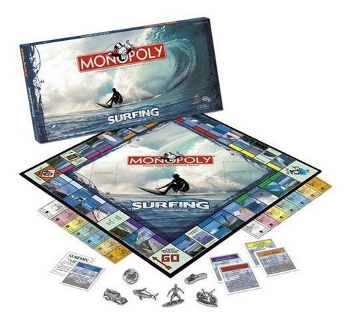 usaopoly surfing 2008 monopoly