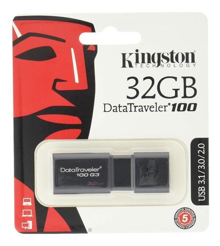 usb 16gb kingston 2.0/3.0 data travel 100   oferta
