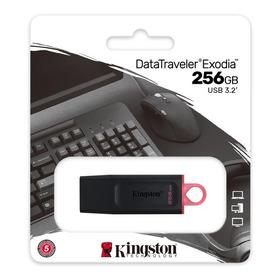 Usb 256 Gb Kingston Data Traveler Exodia Dtx/256 Gb