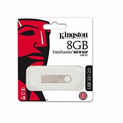 usb 3.0 kingston dtse9g2 8gb original garantia oficial