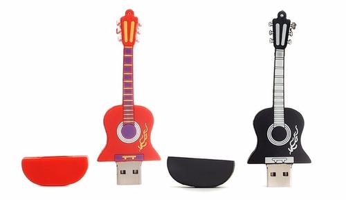 usb  8 gb guitarra  figuras x mayor y detal