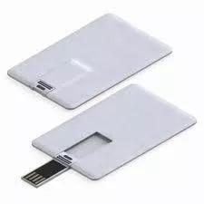 usb 8gb memoria credicard tarjeta credito blanca 8gb