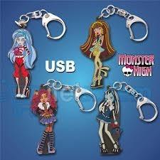 usb 8gb muñecas monster high licencia original  new durables
