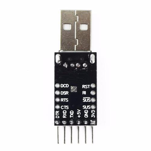 usb a ttl uart cp2102 convertidor modulo arduino electronica