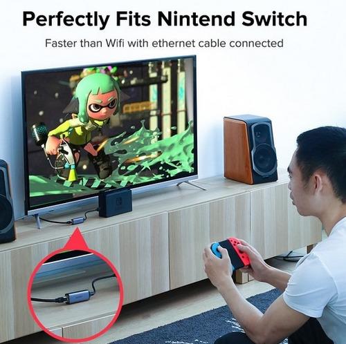 usb adaptador red lan ugreen nintendo switch envio gratis
