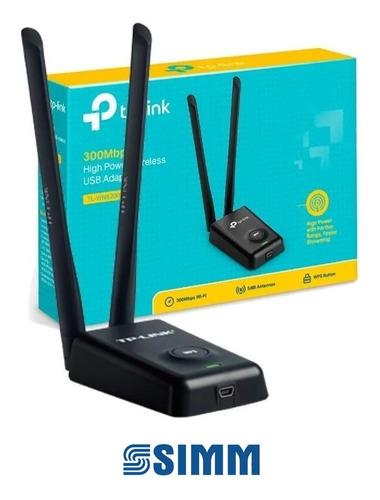 usb adaptador tp link wn8200nd 300mbps high power wireless