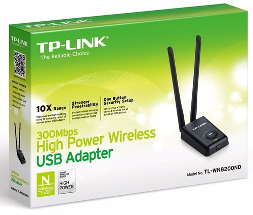 usb adpter wireless 300mbps alta potencia rompemuros 2 ant