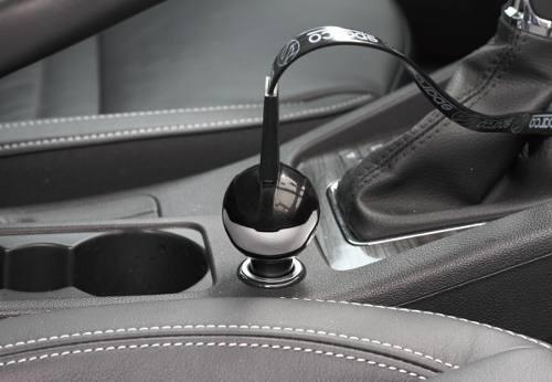 bordado almohadilla de la cubierta del cintur/ón de seguridad del coche mini hombrera 2 piezas de fibra de carbono Negro