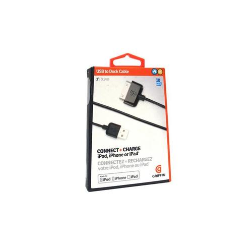 usb base cable griffin conecta+carga-