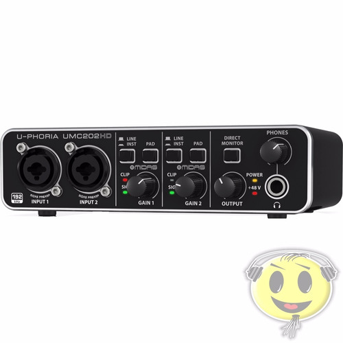 usb behringer interface audio