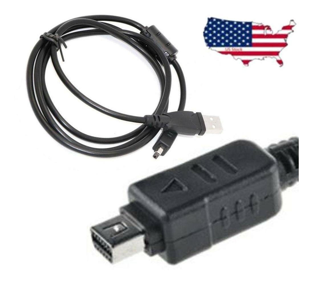 Cable de carga USB cable cargador para cámara Olympus SZ10 SZ12 SZ14 SZ20 SZ31 SZ30