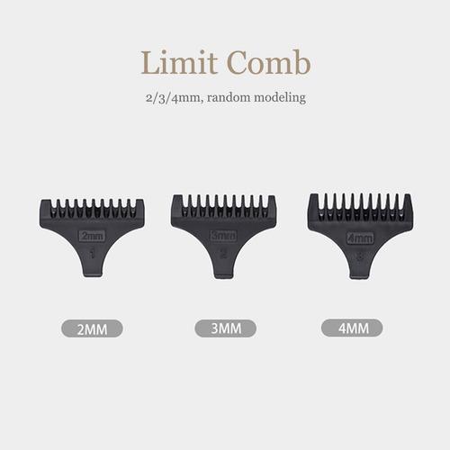 usb carregamento rápido sem fio aparador de cabelo barba cor